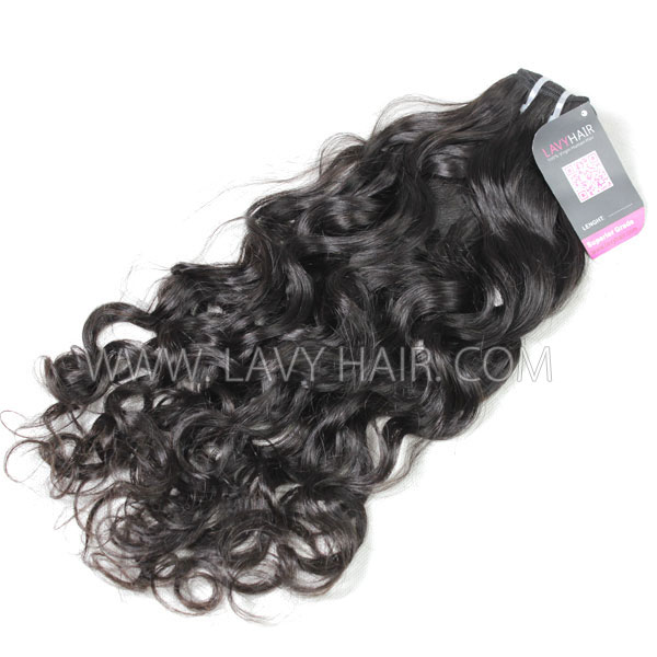Superior Grade 1 Bundle Brazilian Natural Wave Virgin Human Hair