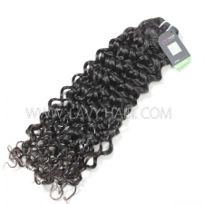 Regular Grade 1 Bundle Brazilian Italian Curly Virgin Human Hair Extensions