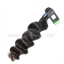 Regular Grade 1 Bundle Peruvian Loose Wave Virgin Human Hair Extensions