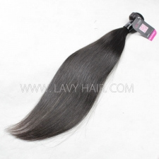 Superior Grade 1 bundle Brazilian Straight Virgin Human hair extensions