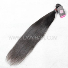 Superior Grade 1 bundle Cambodian Straight Virgin Human hair extensions