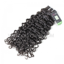 Regular Grade 1 Bundle Peruvian Italian Curly Virgin Human Hair Extensions