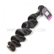 Superior Grade 1 bundle Cambodian loose wave Virgin Human hair extensions