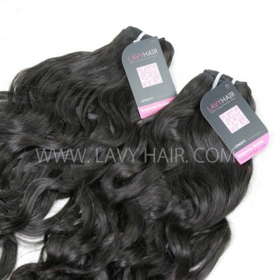 Superior Grade 1 bundle Malaysian natural wave Virgin Human hair extensions
