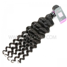 Superior Grade 1 Bundle Malaysian deep wave Virgin Human Hair Extensions