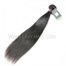 Regular Grade 1 bundle Malaysian Straight Virgin Human hair extensions