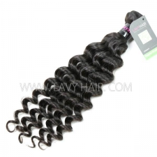 Regular Grade 1 Bundle Malaysian Deep Wave Virgin Human Hair Extensions
