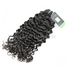 Regular Grade 1 Bundle Burmese Italian Curly Virgin Human Hair Extensions