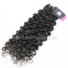 Superior Grade 1 Bundle Mongolian Italian Curly Virgin Human Hair Extensions