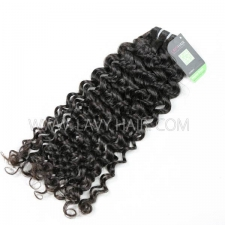 Regular Grade 1 Bundle European Italian Curly Virgin Human Hair Extensions