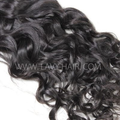 Superior Grade 1 bundle Brazilian natural wave Virgin Human hair extensions
