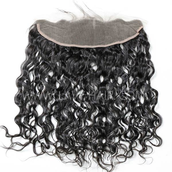 Superior Grade mix 3 bundles with 13*4 lace frontal closoure Cambodian Natural Wave Virgin Human Hair Extensions