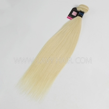 #613 Superior Grade 1 bundle Peruvian Straight Virgin Human hair extensions
