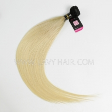 #1B/613 Superior Grade 1 bundle European Straight Virgin Human Hair Extensions