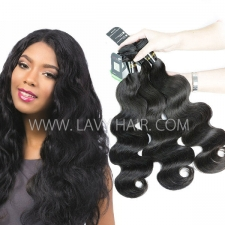 Regular Grade mix 3 or 4 bundles European Body Wave Virgin Human hair extensions