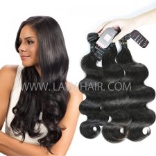 Superior Grade mix 3 or 4 bundles European body wave Virgin Human hair extensions