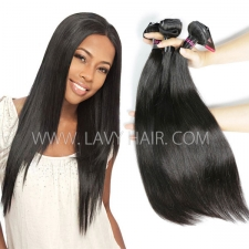 Superior Grade mix 3 or 4 bundles Malaysian Straight Virgin Human hair extensions