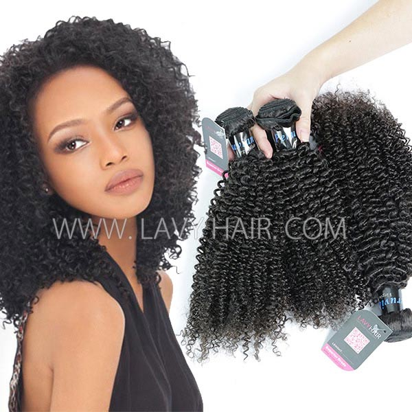 Superior Grade mix 3 or 4 bundles Peruvian Kinky Curly