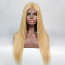 Color P10/24 Lace Closure 4*4 With Bundles Sewing Wigs Straight Human hair