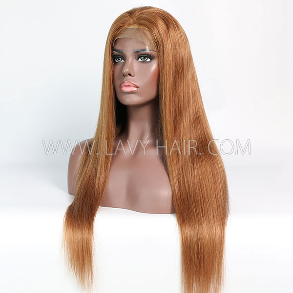Color 30 Lace Closure 4*4 With Bundles Sewing Wigs Straight Human hair