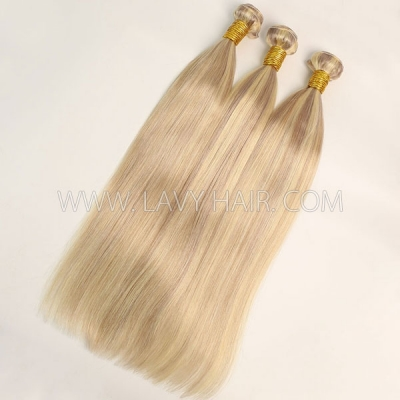 Color p18/24 Straight Hair Human Virgin Hair 1 Bundle