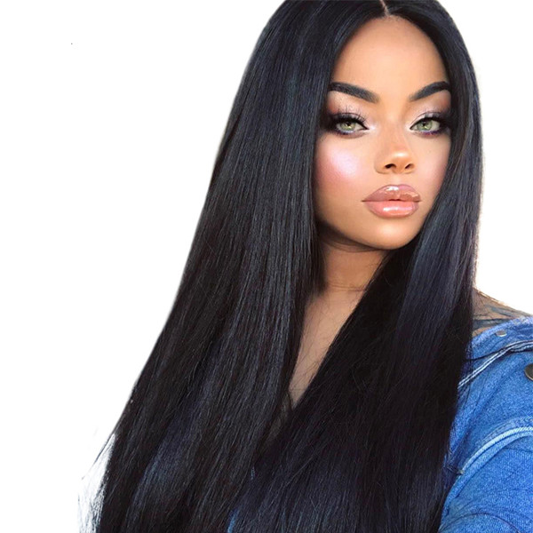 180% Density Lace Frontal Wig Straight Hair
