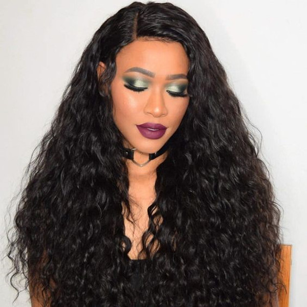 Indian Natural Wave 24 Inch Lace Frontal Wig 180% Density