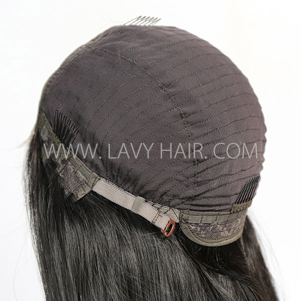 HD Lace Bundles With 4*4 Lace Closure Sewing Wig 130% Density