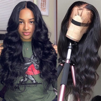 Natural Hair Wig Elegant New Wavy Customize for 7 Workdays 180lfw
