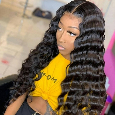 Magic Wavy Natural Hairline Wig 7 Business Days Waiting 180lfw