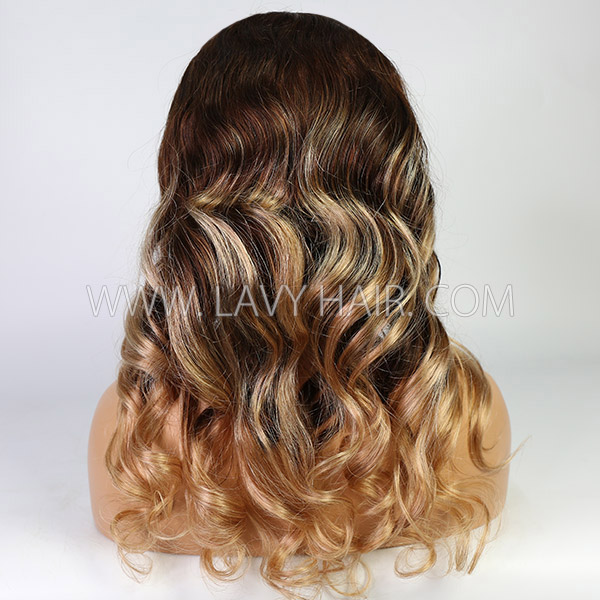 Highlight Color As Picture Wavy Hair Wig 7 Days Ready 13*6-130lfw-77A5