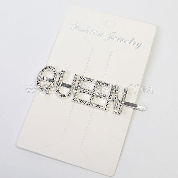 Shinning Bright Hair Pins Golden and Silver Color (leave message for word feature or by random)