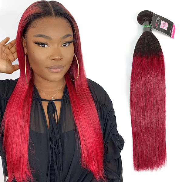 #1B/99J Superior Grade 1 Bundle Straight&Body Wave Virgin Hair Extensions Brazilian Peruvian Malaysian Indian European Cambodian Burmese Mongolian