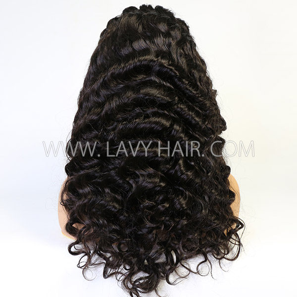 Lace Front Wigs 300% Density Loose Wave Human Hair