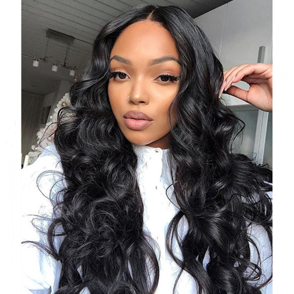 Lace Frontal Wigs 130% Density Body Wave Human Hair