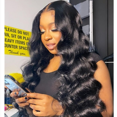 130% Density Full Lace Wigs Body Wave Human Hair