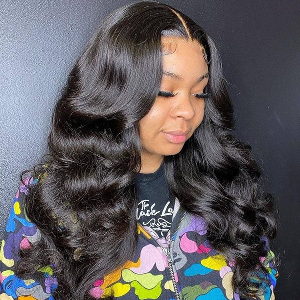 180% Density Full Lace Wig Body Wave Hair